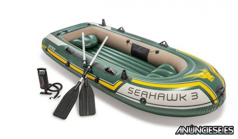 Barca hinchable Intex - Set Seahawk 3
