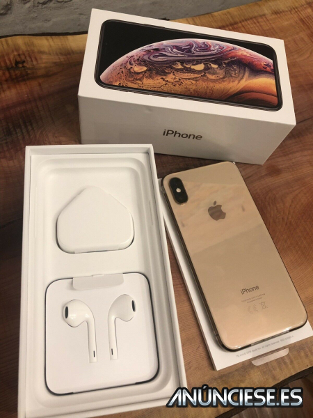 Venta iPhone XS 64GB 420 EUR iPhone XS Max 64GB 430 EUR