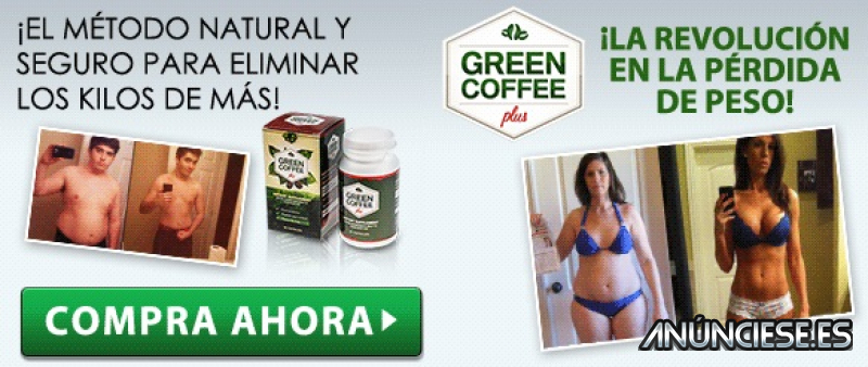 Green Coffee Plus: Pérdida de Peso efectiva