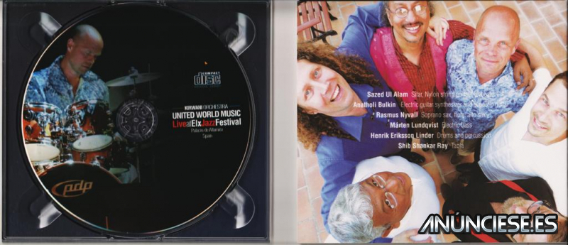 2CDS UNITED WORLD MUSIC - JAZZ