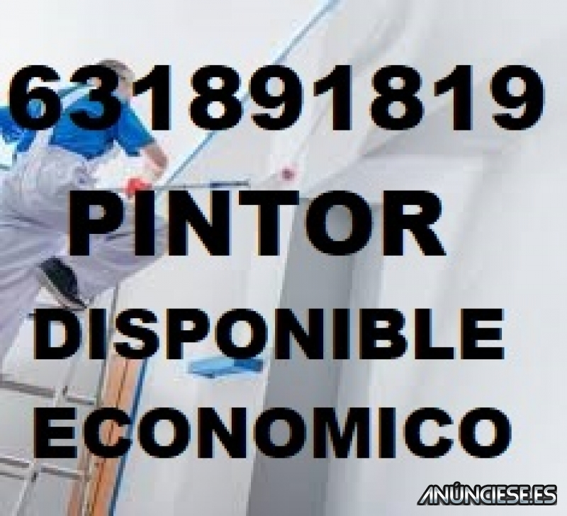 Pintor economico disponible