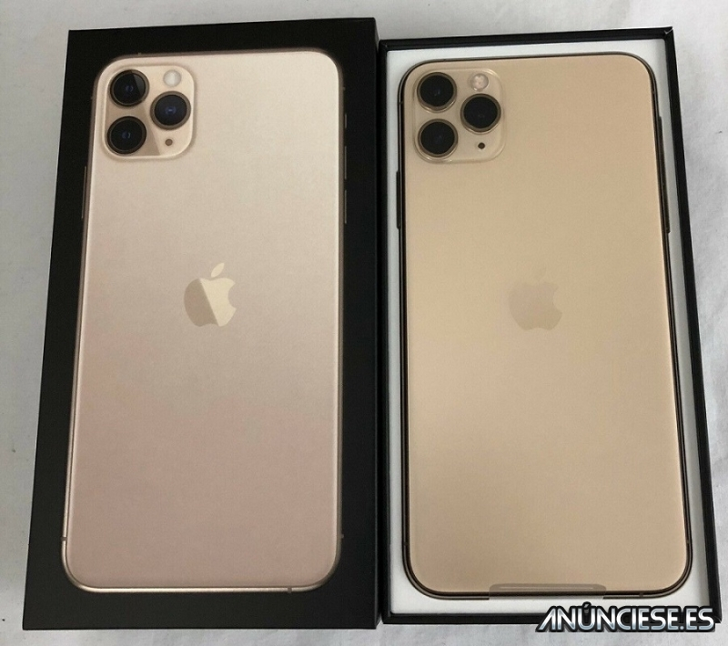 Apple iPhone 11 Pro 64GB = $500,iPhone 11 Pro Max 64GB  $550