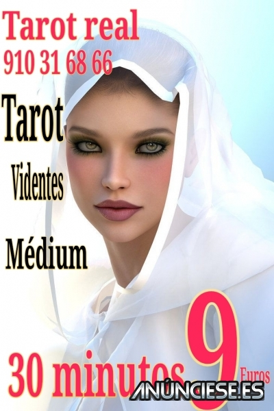 Tarot real 30 minutos 9 euros médium y videntes