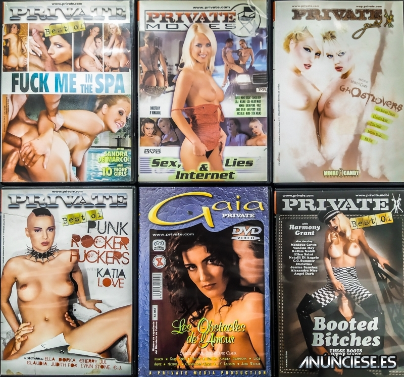 6 DVDS PRIVATE